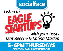 Shona Mackin founder of socialface on radio